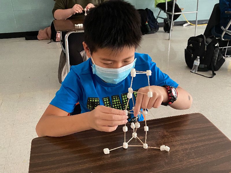 STEM-Inspired Marshmallow Structures