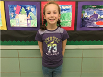 Second-Grader Moves to States in Reflections Contest photo