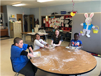 Tooker Students Get Slimy During Dr. Seuss Lesson photo