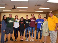 Five Senior-Athletes Commit to Colleges Photo