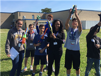Technology Students Test Their Rocket Power photo