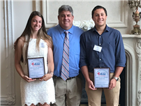 Students Recognized with Athlete of Year Awards photo